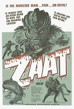 Original 1971 ZAAT movie poster